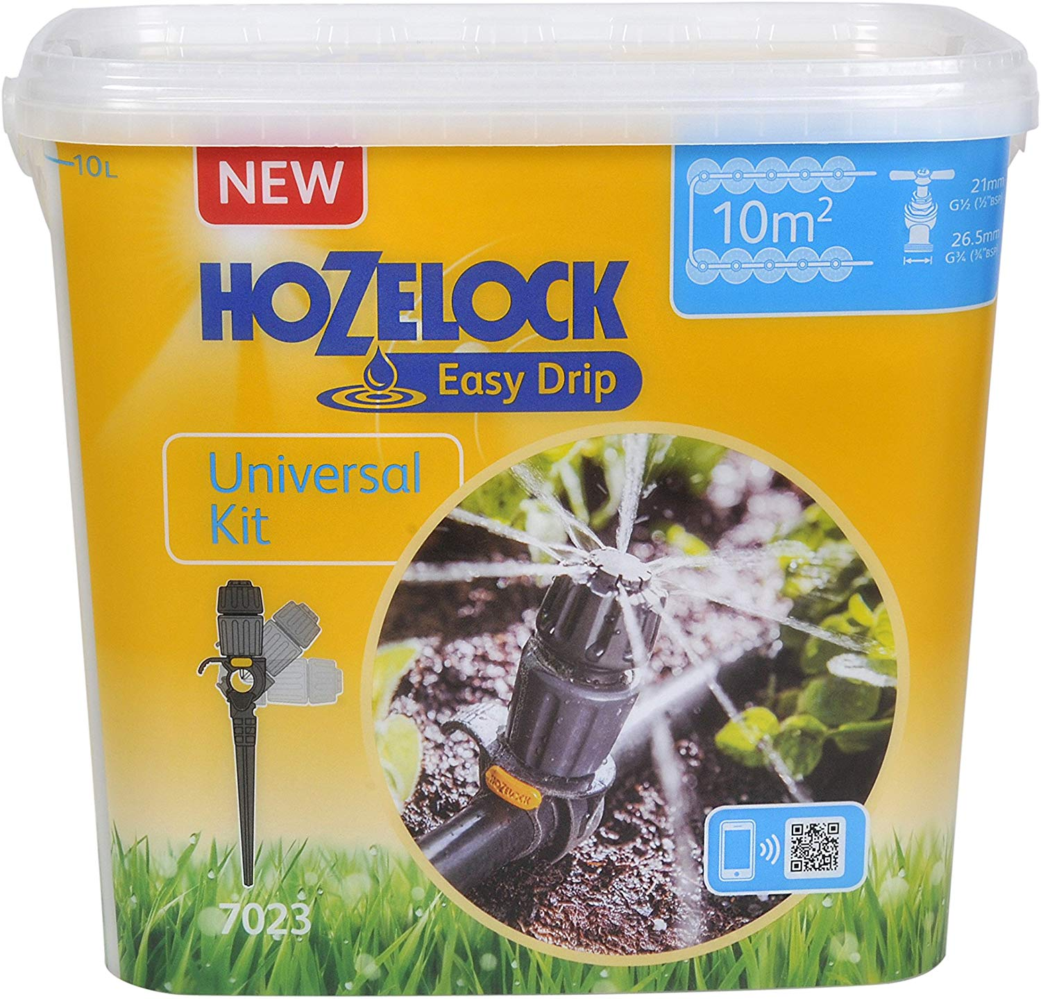 Hozelock Easy Drip Universal Watering Kit, 40 x 25 x 15 cm