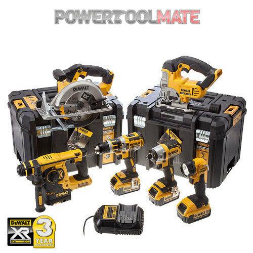 Dewalt DCK699M3T 6 Piece Power Tool Kit + 3x 4Ah Batteries £679.99 At eBay