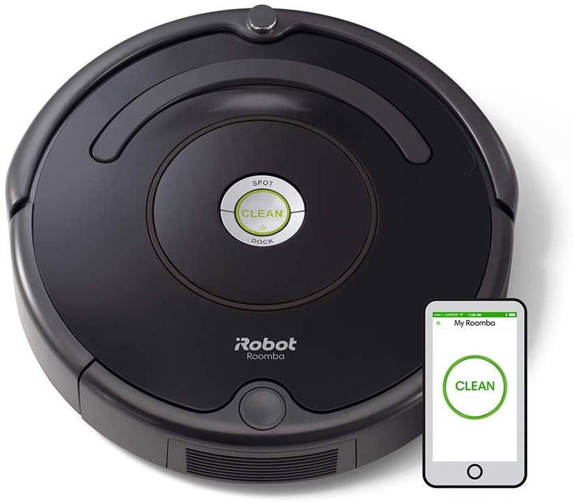 Save £109 iRobot Roomba 671 Robot Vacuum Cleaner, WiFi Connected and programmable via app