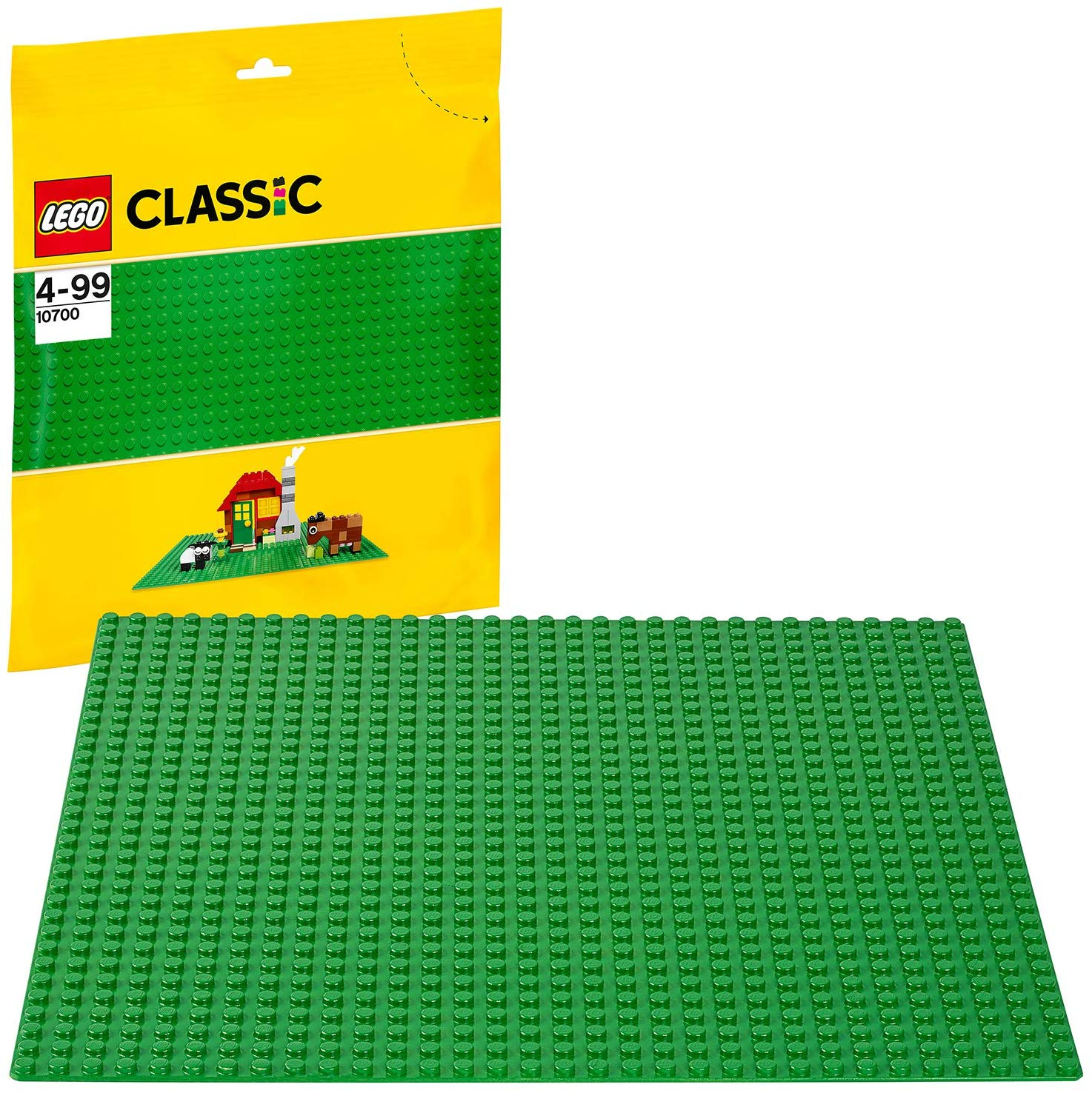 LEGO Classic Base Extra Large Building Plate 10 x 10 Inch Platform, Green £4.5 Prime +£4.49 Non Prime