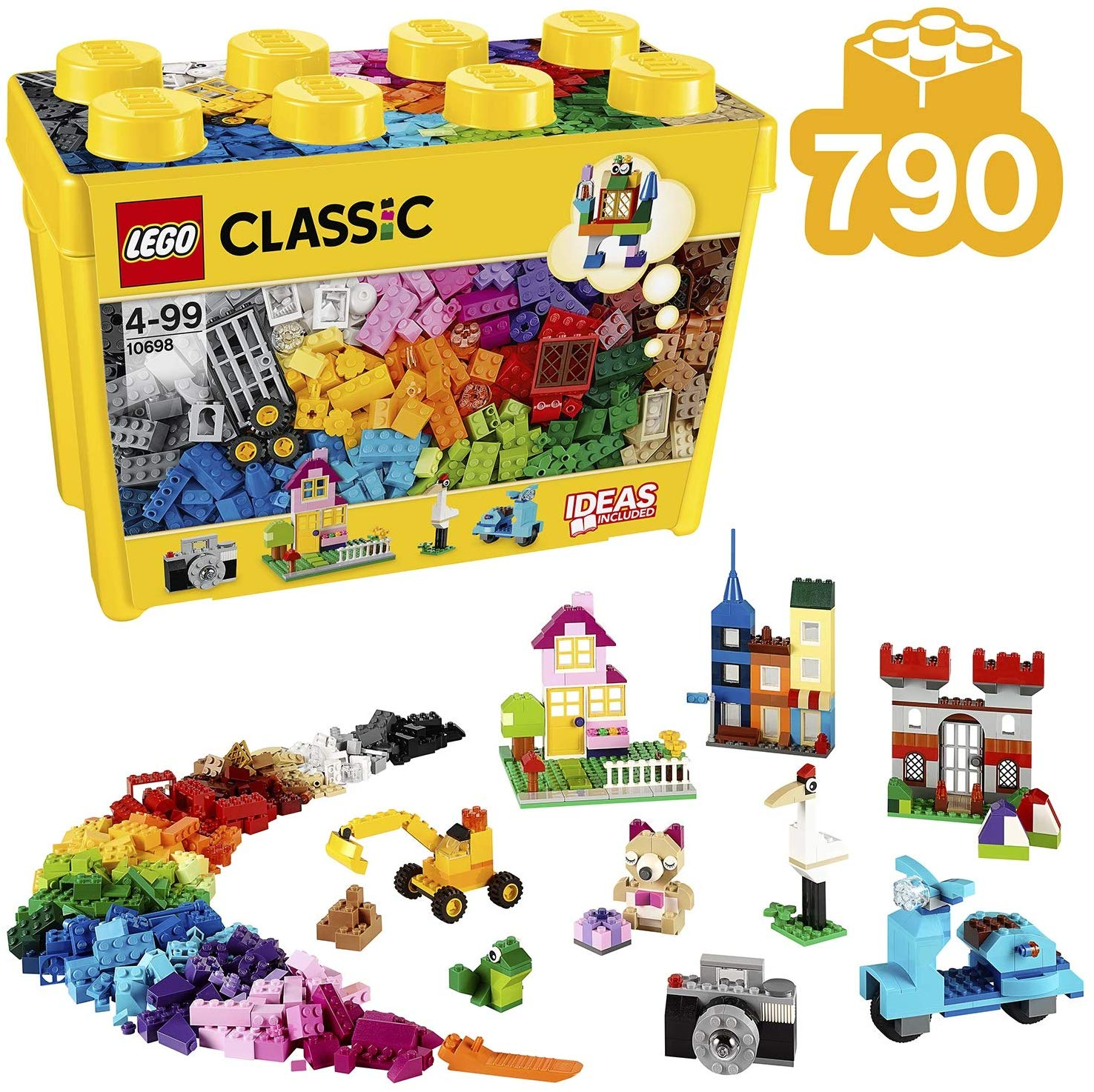 LEGO Classic Large Creative Brick Box Construction Set