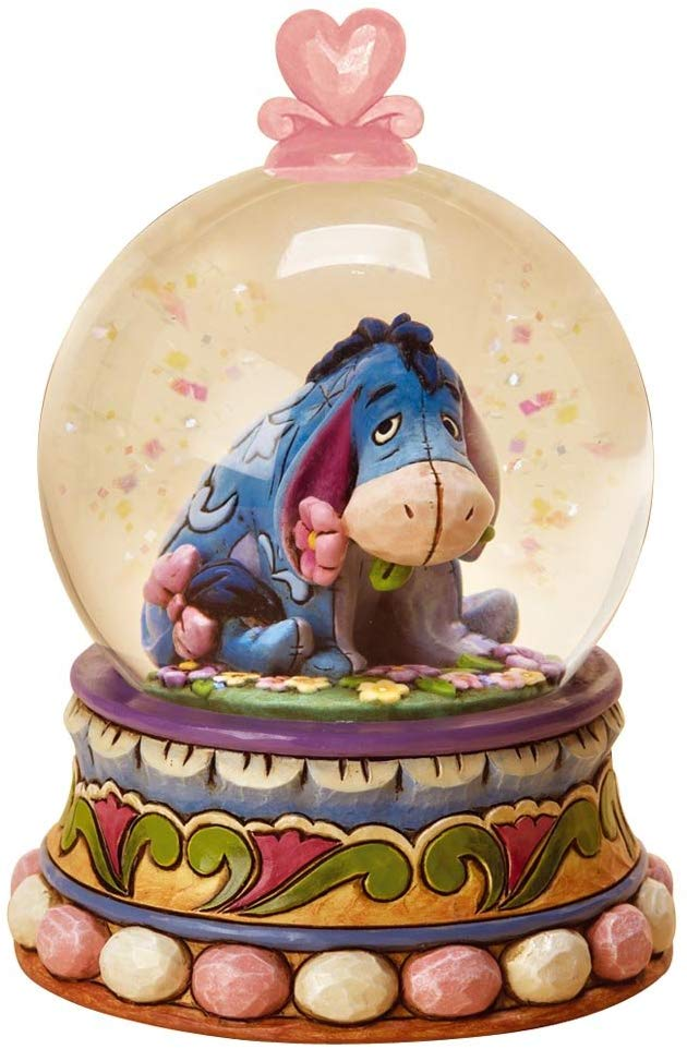 Disney Traditions Eeyore Waterball Gloom to Bloom Figurine