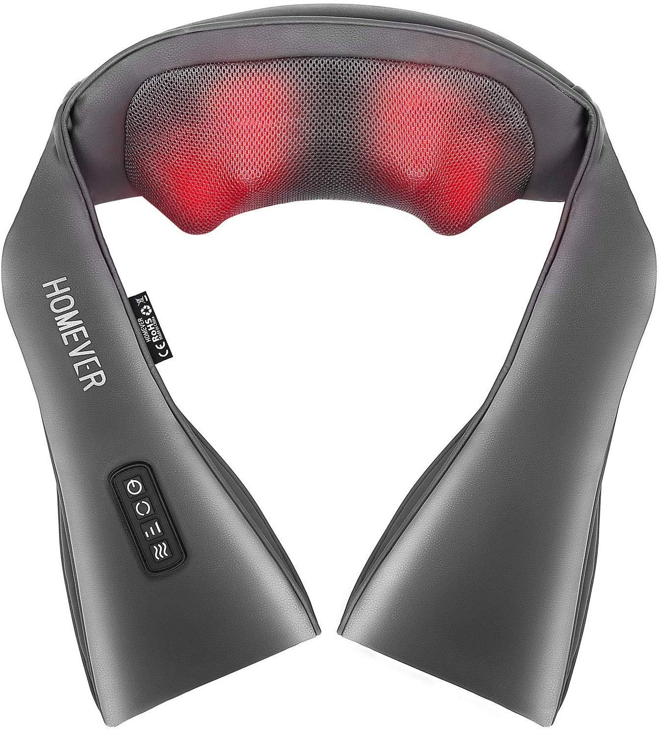 Homever Shiatsu Back Shoulder Massager