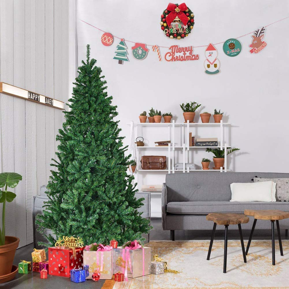 1.8M/ 6FT Artificial Christmas Tree + 100 LEDs Fairy String Lights