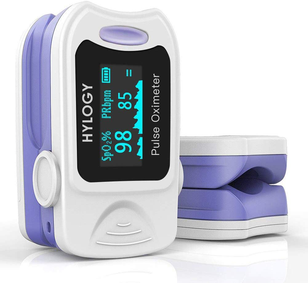 Pulse Oximeter Fingertip Blood Oxygen Saturation Monitor with Lanyard