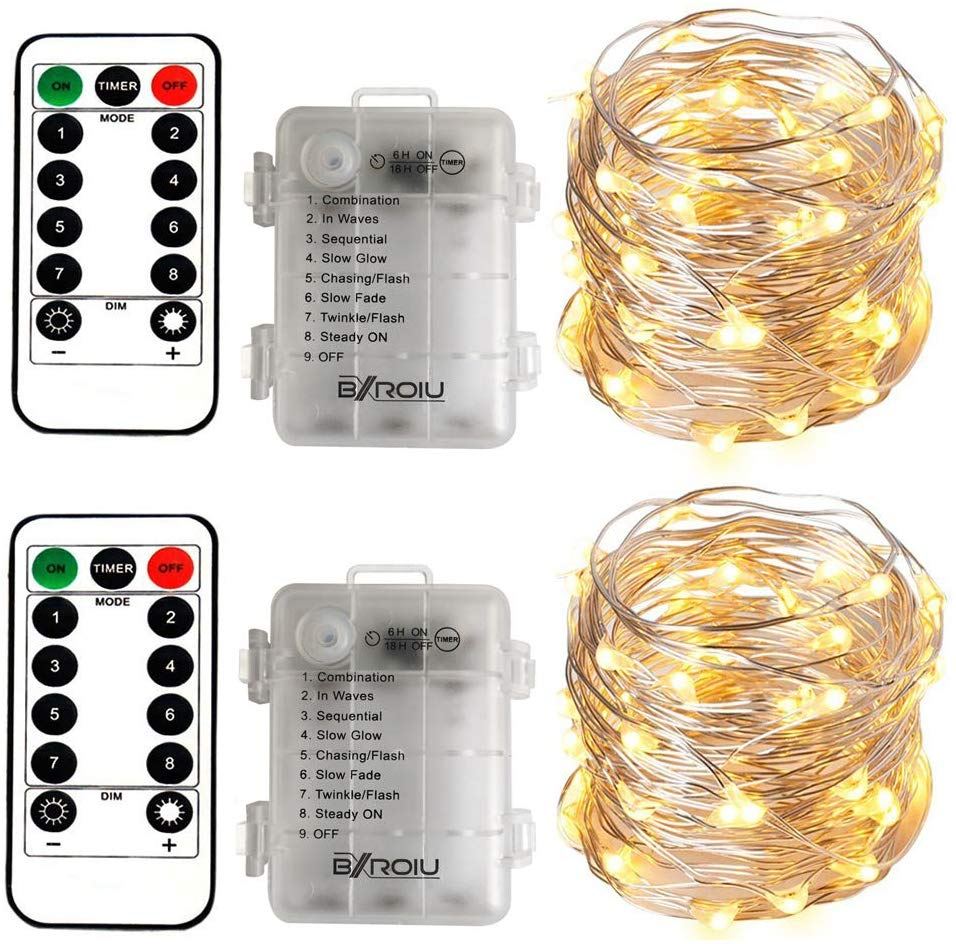 2 x String Lights Battery Operated