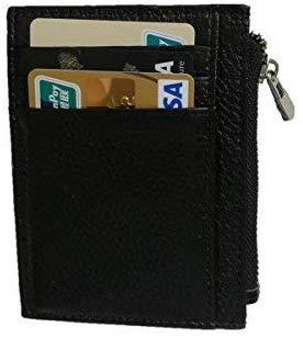 Credit Card Holder,Slim RFID Blocking Mens Gunine Leather Card Wallet