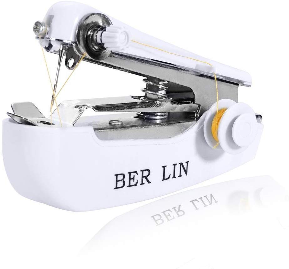80% off  Household Mini Portable Hand-held Clothes Fabric Sewing Machine Sewing Machines