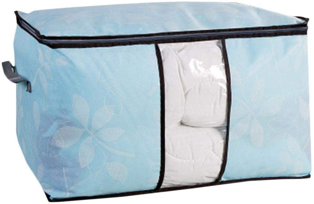 80% off Carsge Foldable Storage Bag Space Saving Blanket Pillow Quilt Closet Organizer