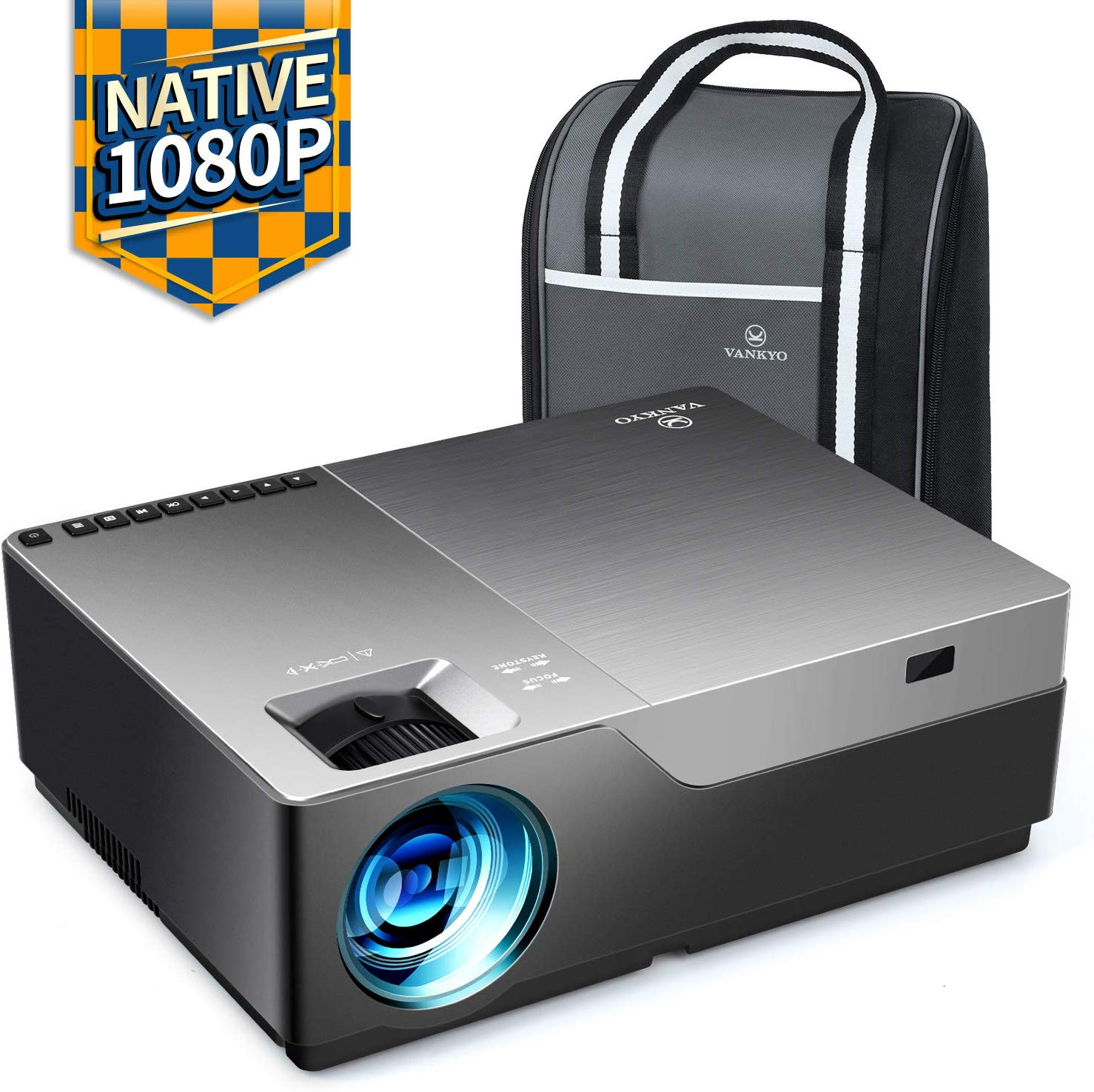 VANKYO Performance V600 Native 1080P LED Projector, 5500 Lumens HDMI Projector