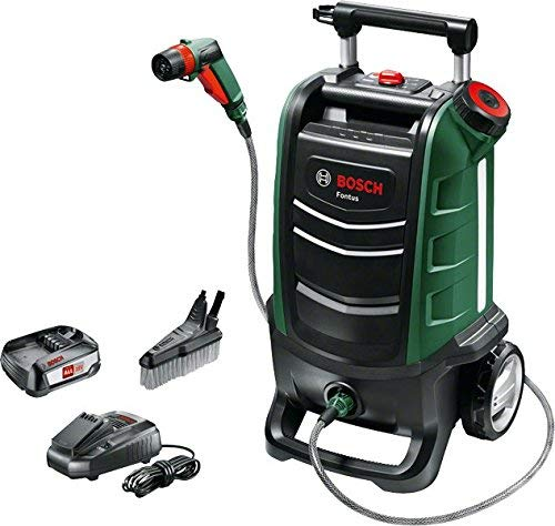 Bosch Fontus Cordless Outdoor pressure washer Cleaner £169.99