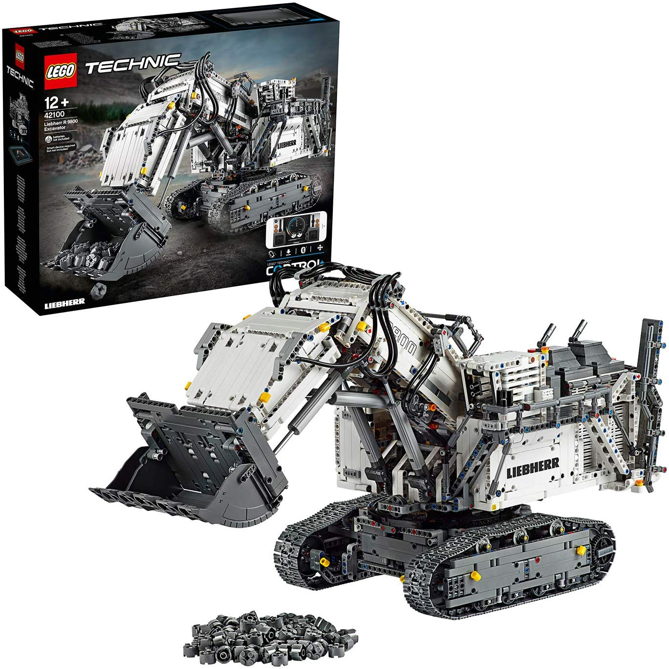 Save £80.45 on LEGO Technic Control+ Liebherr R 9800 Excavator App Controlled Advanced Construction Set