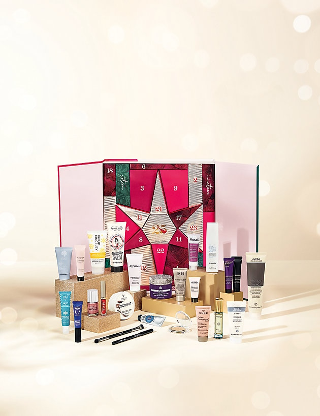 Beauty Advent Calendar Worth £300 Now Only £40 When You Spend £25 Across Clothing, Beauty and Home at Marksandspencer