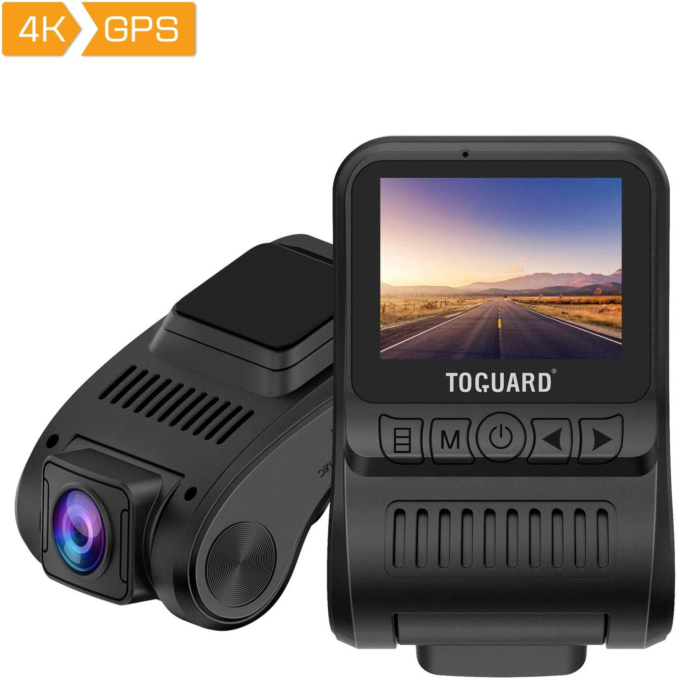 Dash Cam 4K GPS UHD Dashboard Camera Up to 55% OFF