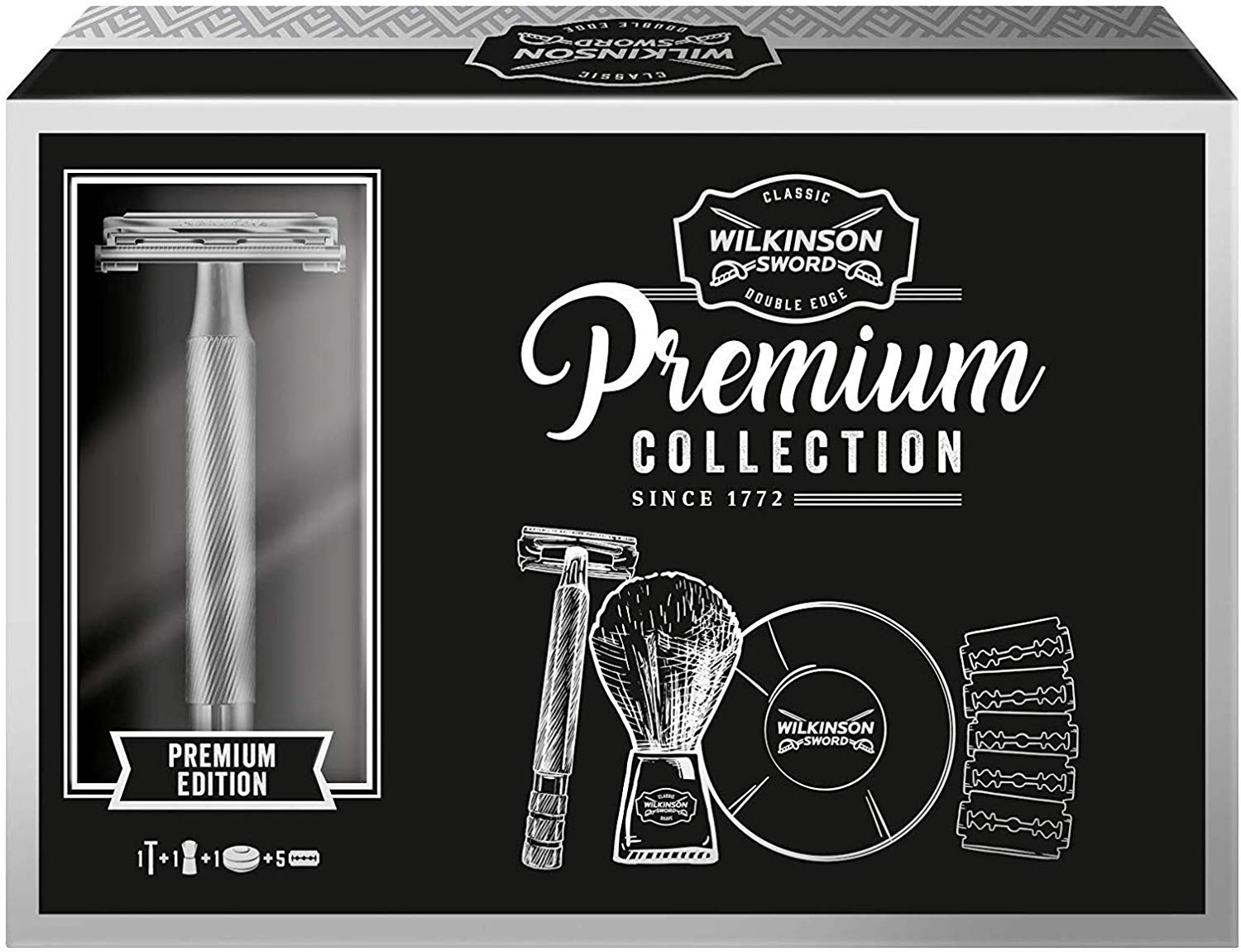 Up to 45% off Wilkinson Sword Classic Double Edge Safety Razor Gift Set
