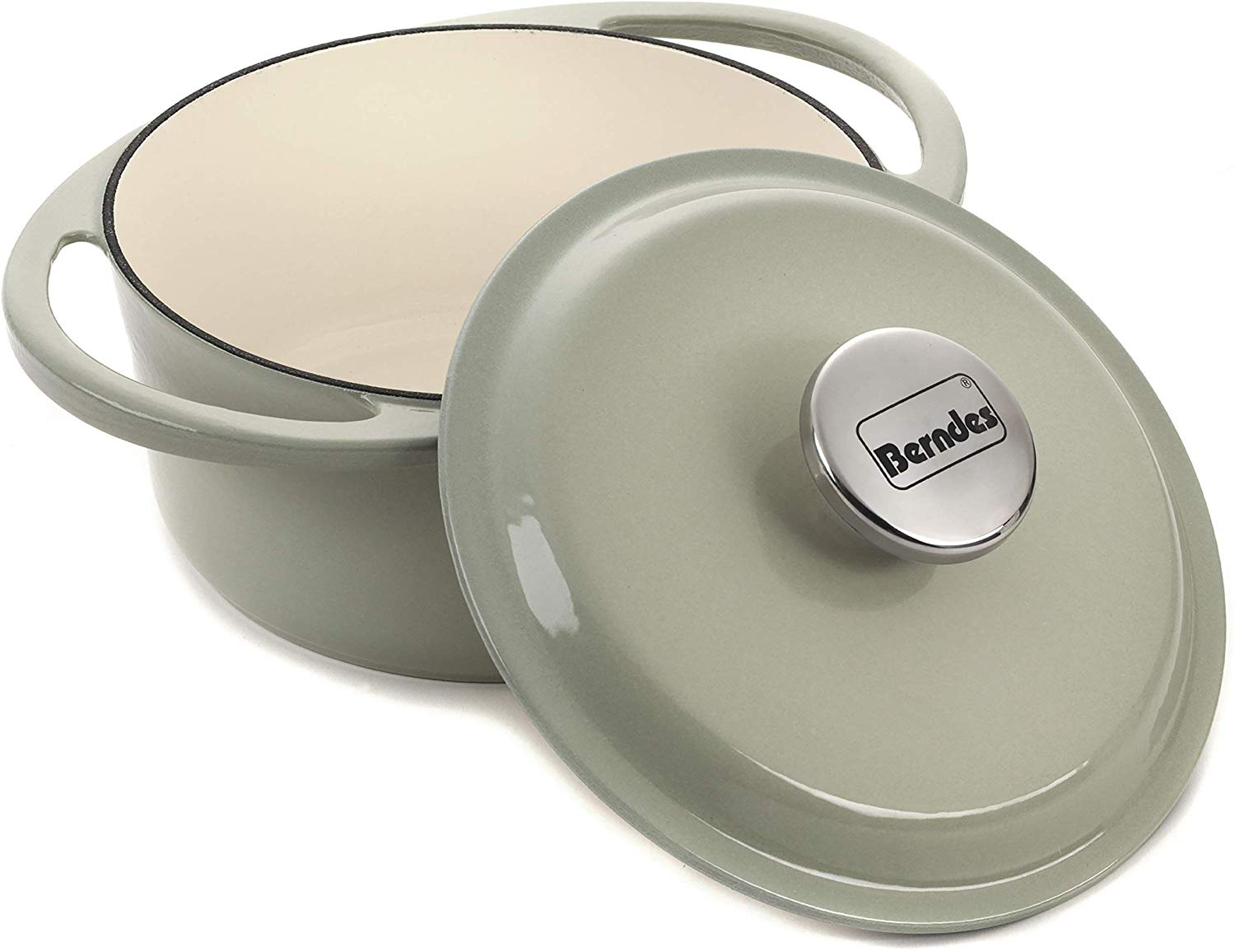 Berndes Round Casserole Dish with Lid, 20cm, 2.4 L for £19.95