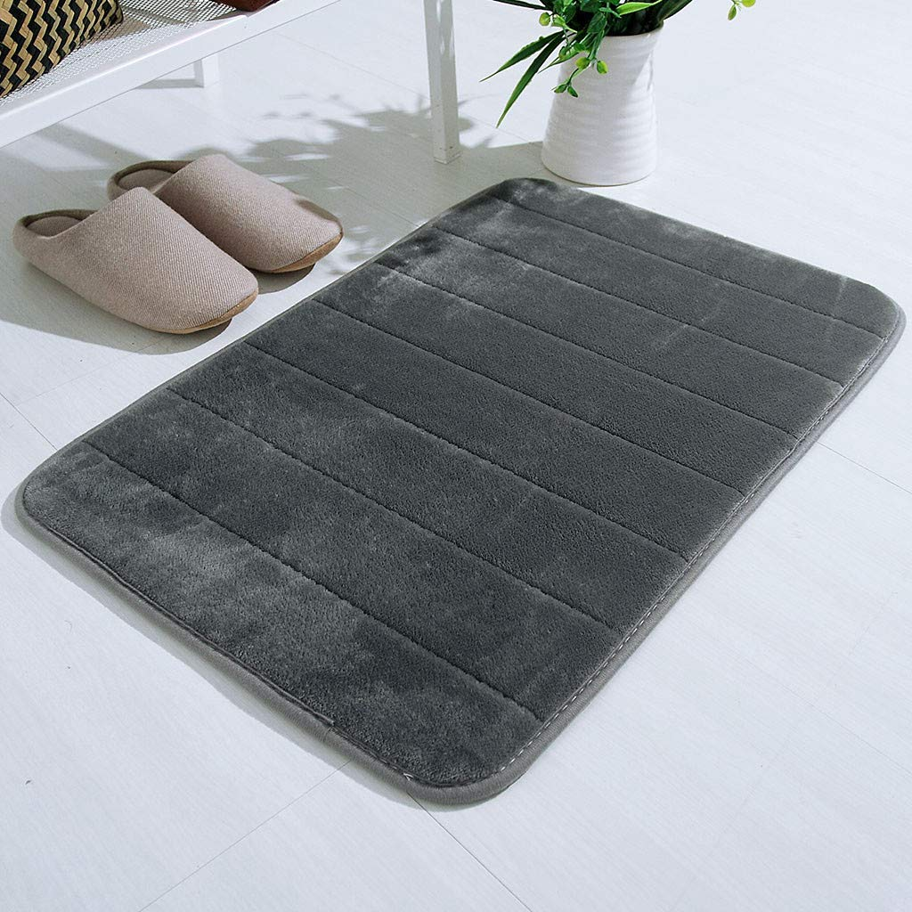 BSRYO Memory Foam Bath Mat Delivered on Amazon