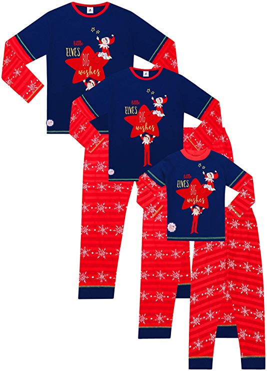 Official Family Long Pyjamas Christmas Matching Pjs 20-22 Only for £4.37 on Amazon +4.49 Non Prime