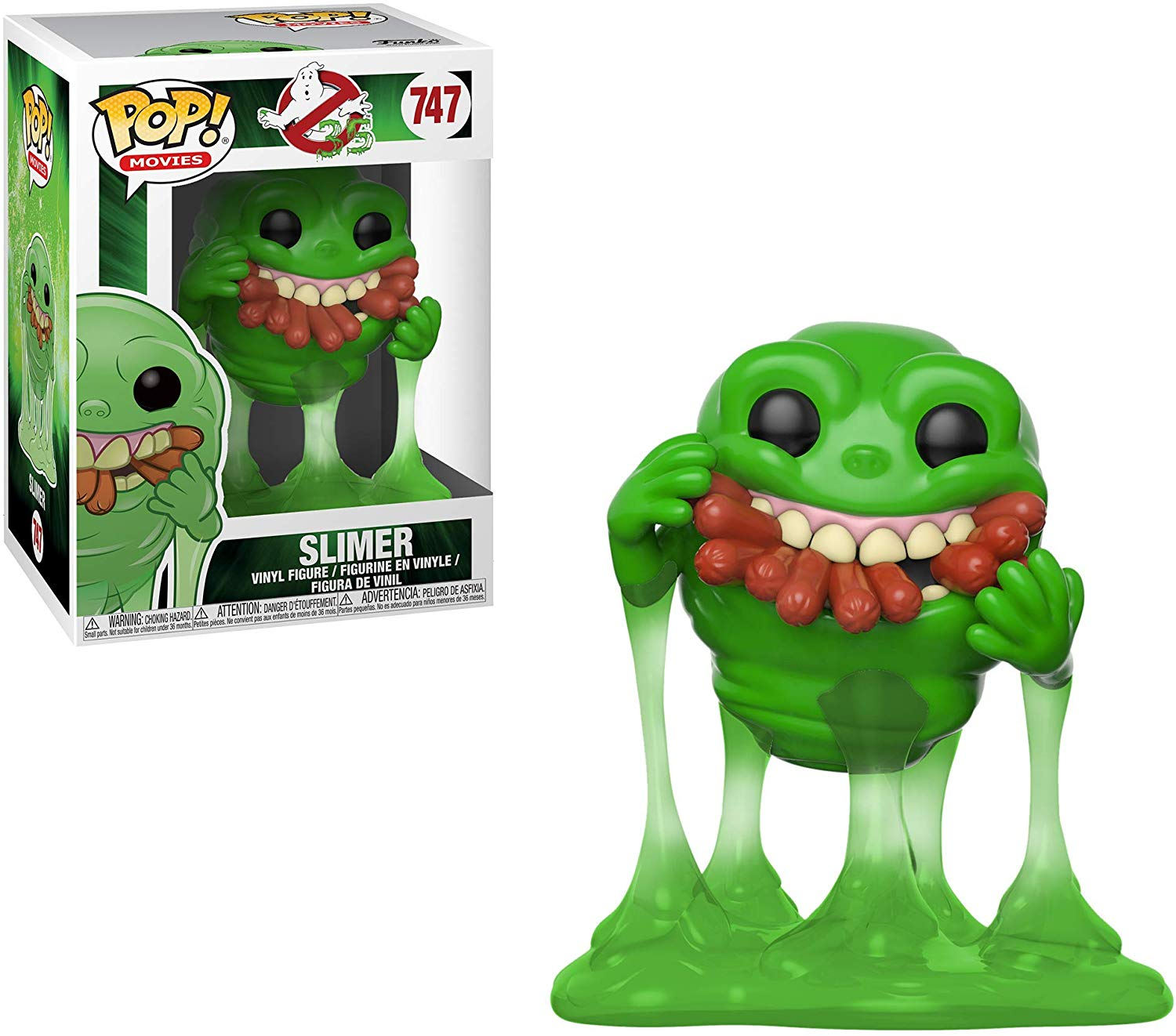 Ghostbusters-Slimer with Hot Dogs Collectible Figure £6.49 on Amazon