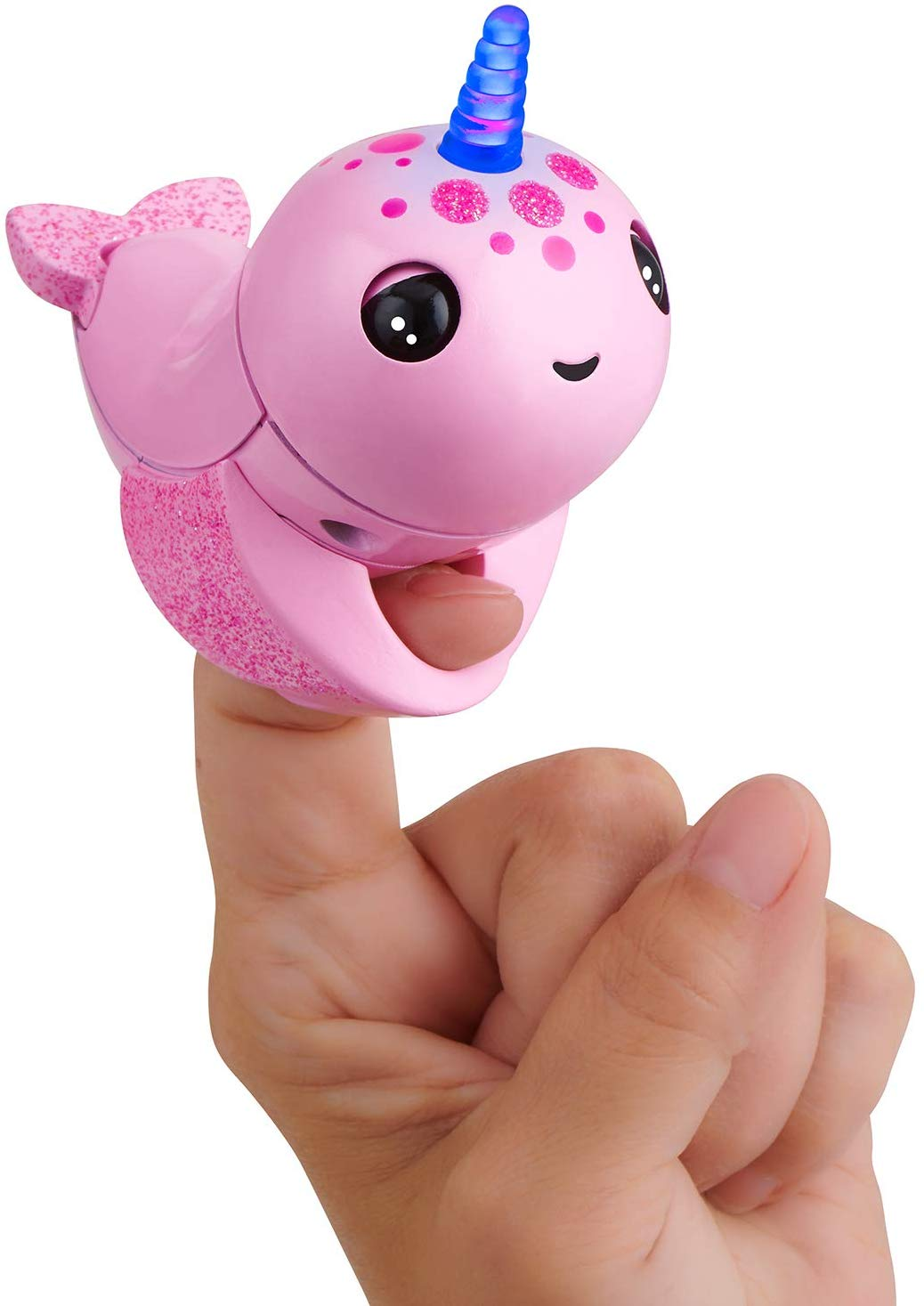 WowWee Fingerlings Light Up Narwhal for £6.99 on Amazon