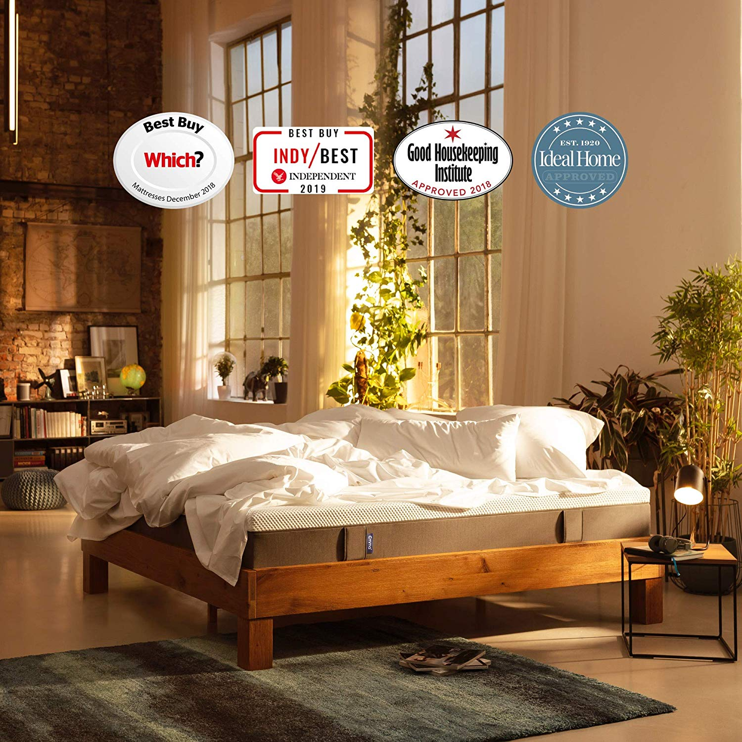 Emma Original Single Mattress 90×190 25 cm high Memory Foam Mattress