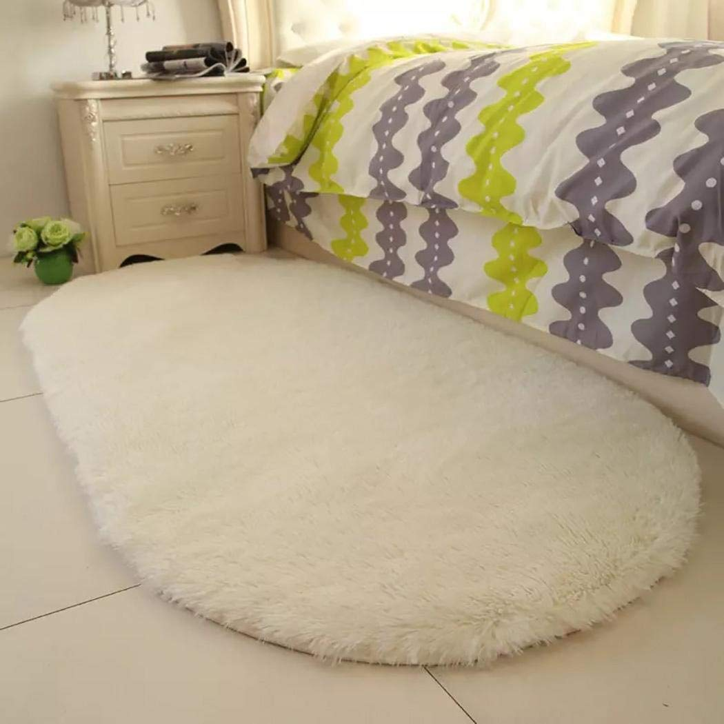 80% off Home Bedroom Doormat Floor Solid Soft Non-slip Carpets Area Rugs
