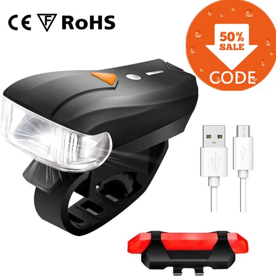 55% off Bike Light Set