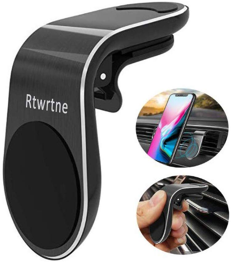 Rtwrtne Magnetic Car Phone Mount Holder Universal Air Vent Car Phone Holder with Super Strong Magnet