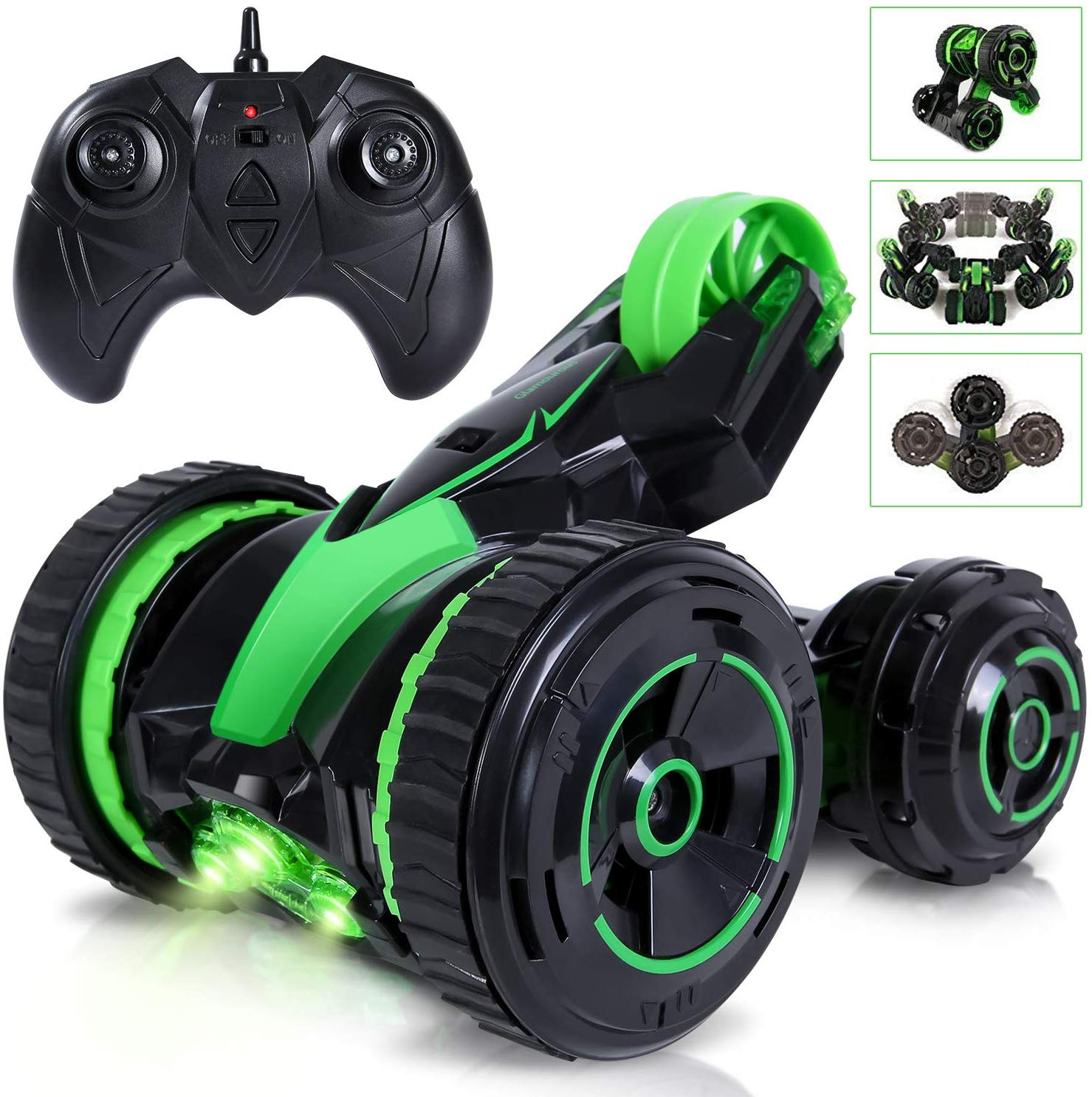 ANTAPRCIS Remote Control Car, 360° Rotating Stunt Vehicle, Gift for Kids and Adult