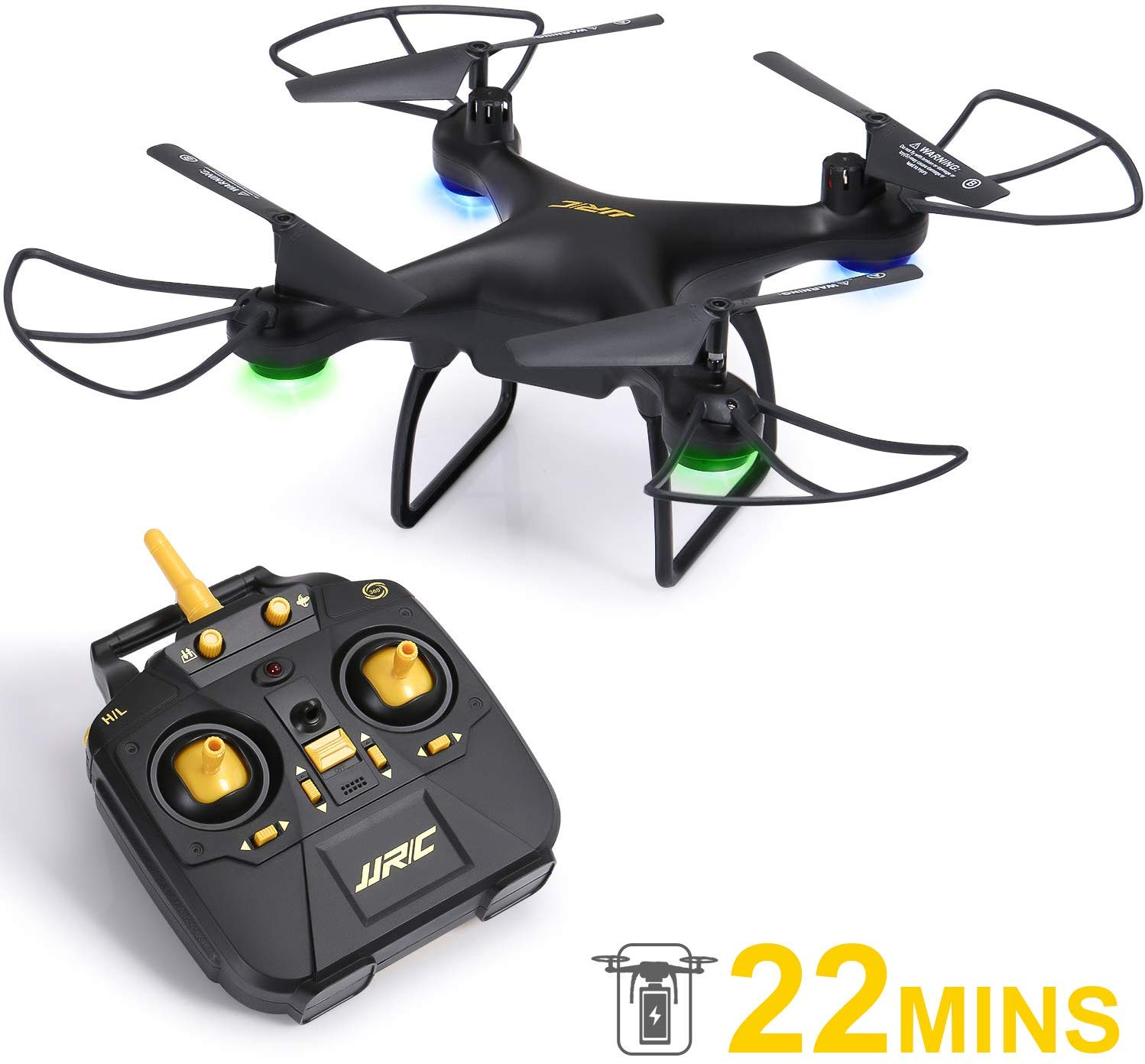 SGILE Remote Control Drone for Kids – RC Quadcopter with 22 Mins Long Flight Time & 3D Flip for Beginners