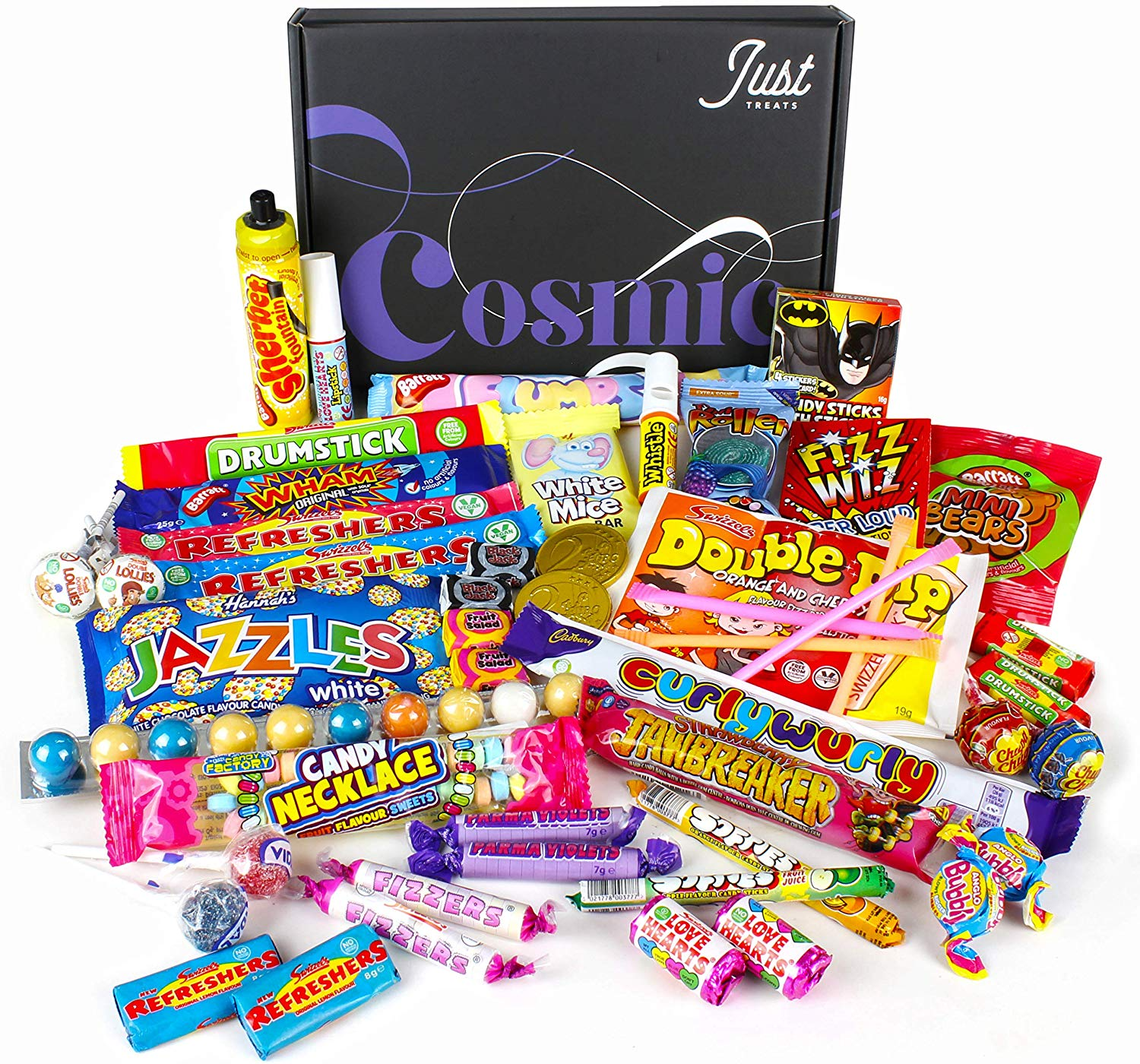 Retro Sweets Gift Box: Just Treats Cosmic Gift Box