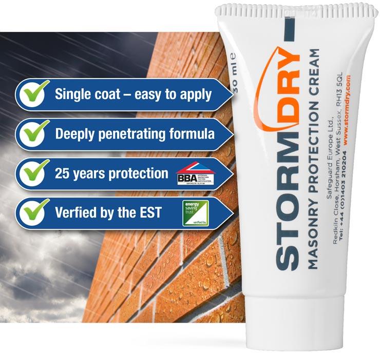 Free Stormdry Masonry Cream