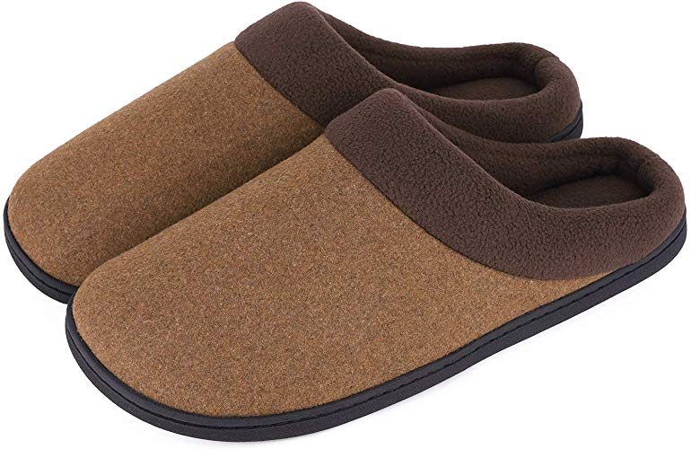 Woolen Fabric Memory Foam Anti-Slip Slippers