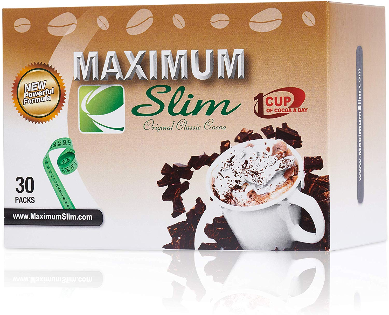 Premium Instant Cocoa – EFFECTIVE FORMULA – Maximum Formula, Maximum Results, & Maximum Taste – 30 ct