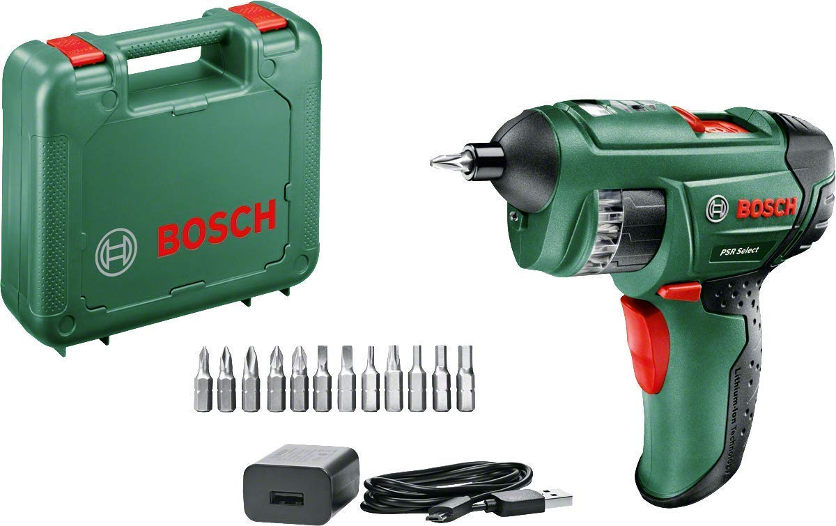 Save £25 on Bosch PSR Select Cordless Screwdriver