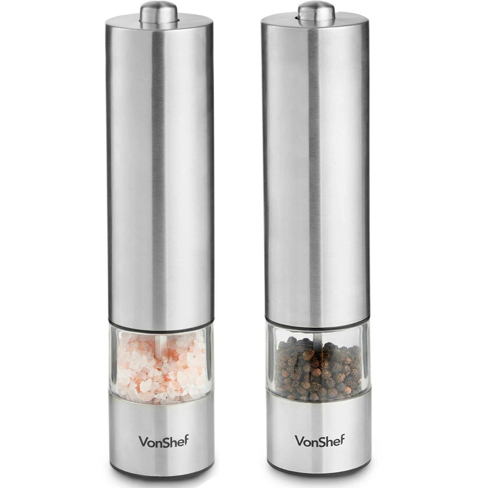 2pc Electric Salt & Pepper Mills £9.99 Delivered on ebay