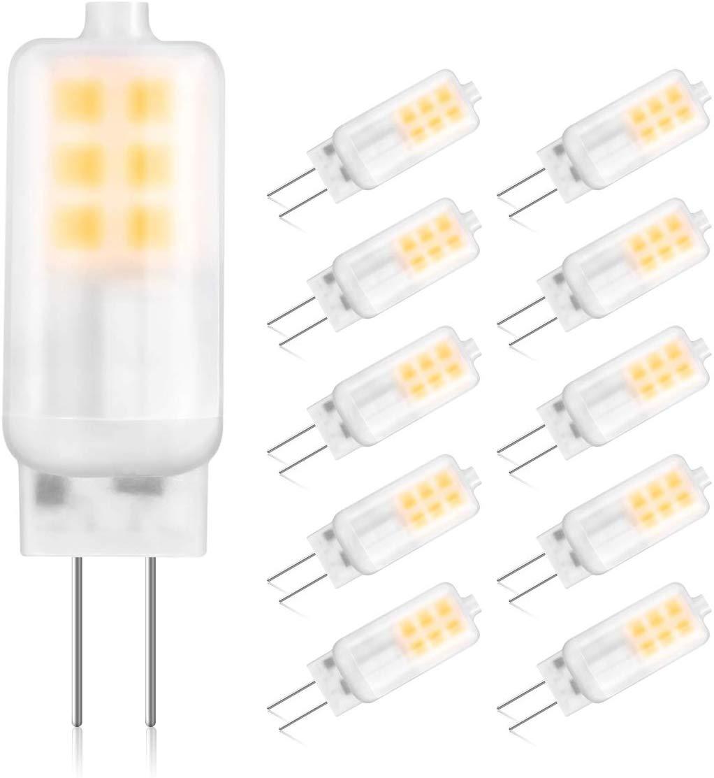 GLIME G4 LED Bulbs 3W Replace 10W-25W Halogen Bulbs