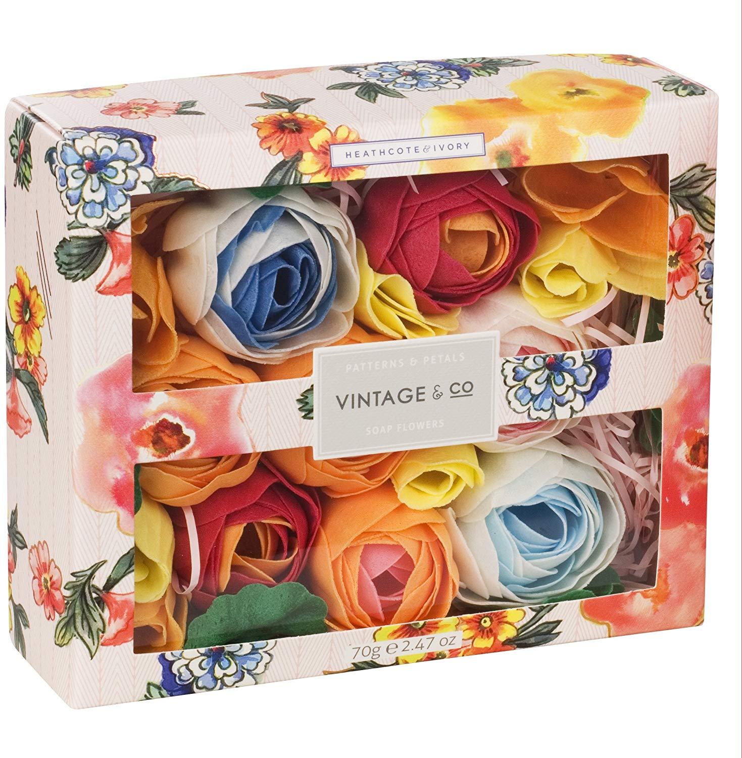 Vintage & Co Patterns and Petals Soap Flowers £8 Prime +4.49 Non Prime
