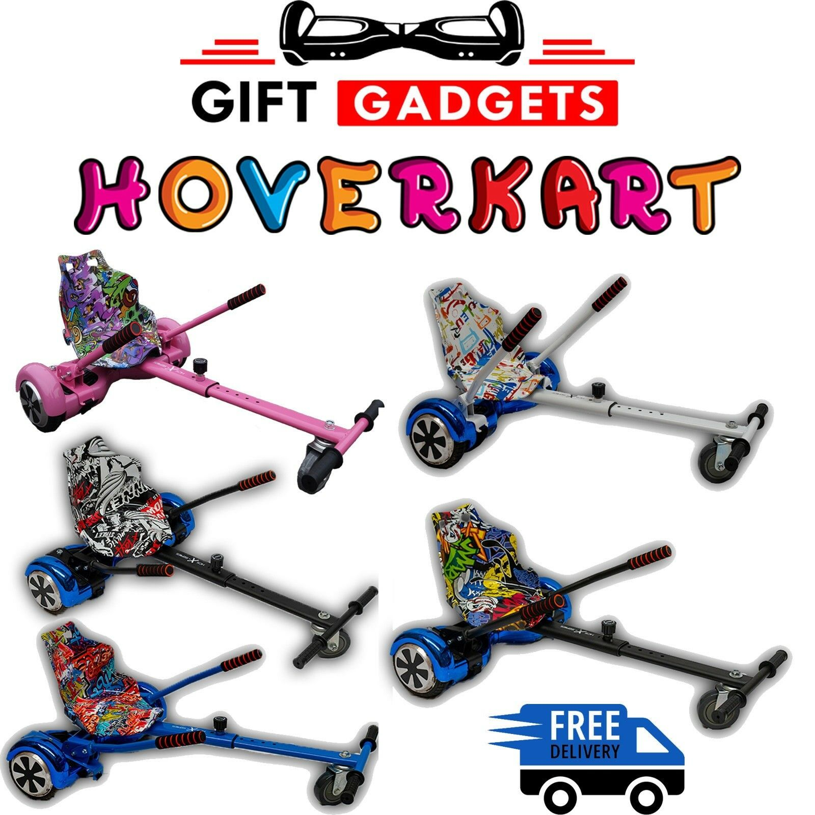 Kids Racer Hover Kart GoKart For Self Balancing Board