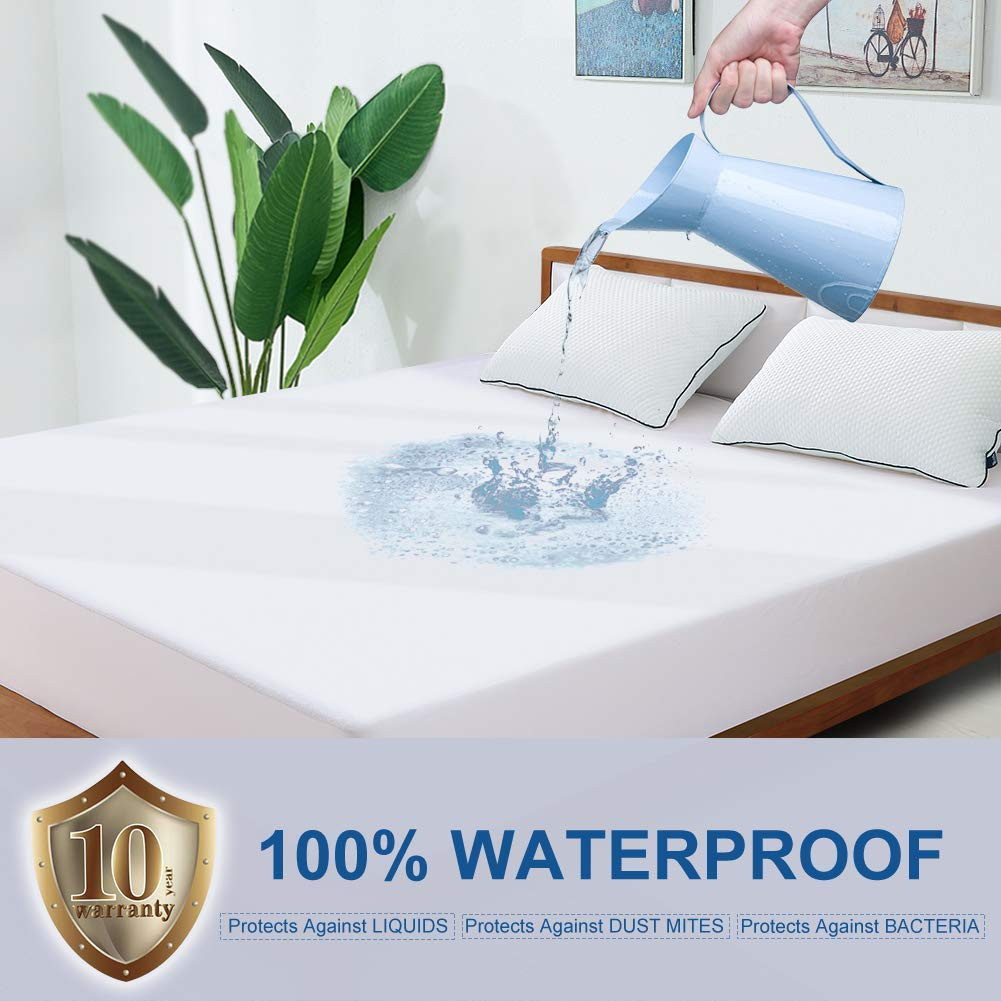 BedStory Towolling Waterproof Mattress Protector Double