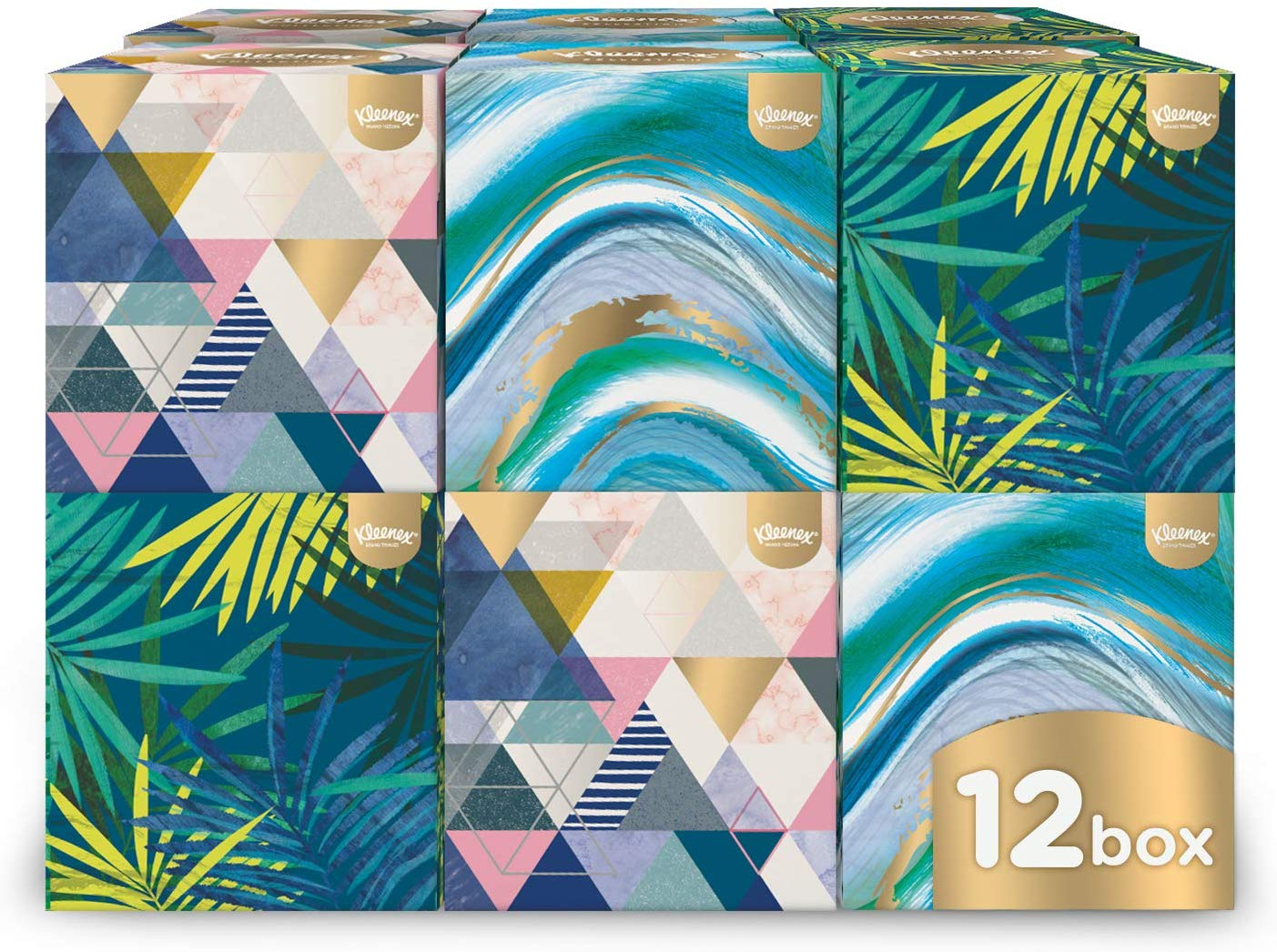 Kleenex Collection Cube – 12 Boxes now £12 prime +4.49 non prime