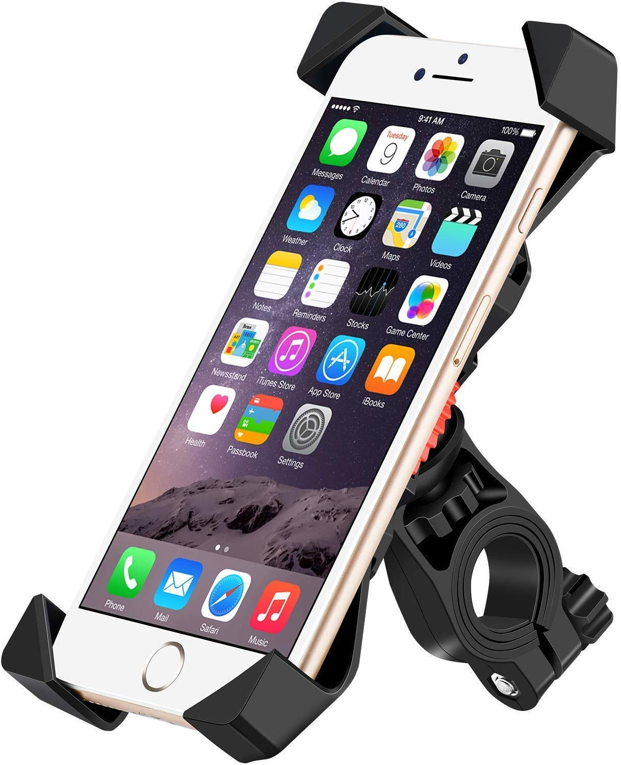 magicelec Bike Phone Mount Bicycle Holder/Bike Accessories/Bike Phone Holder /360° Rotation Universal Cradle Clamp