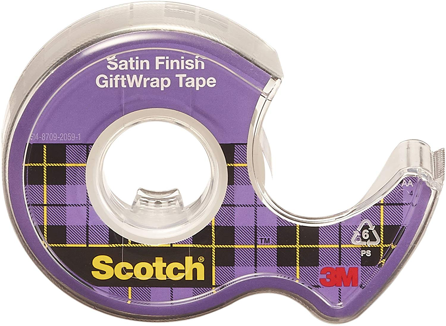 Scotch GiftWrap Tape, Dispensered Roll 19mm x 16.5m for £1.39