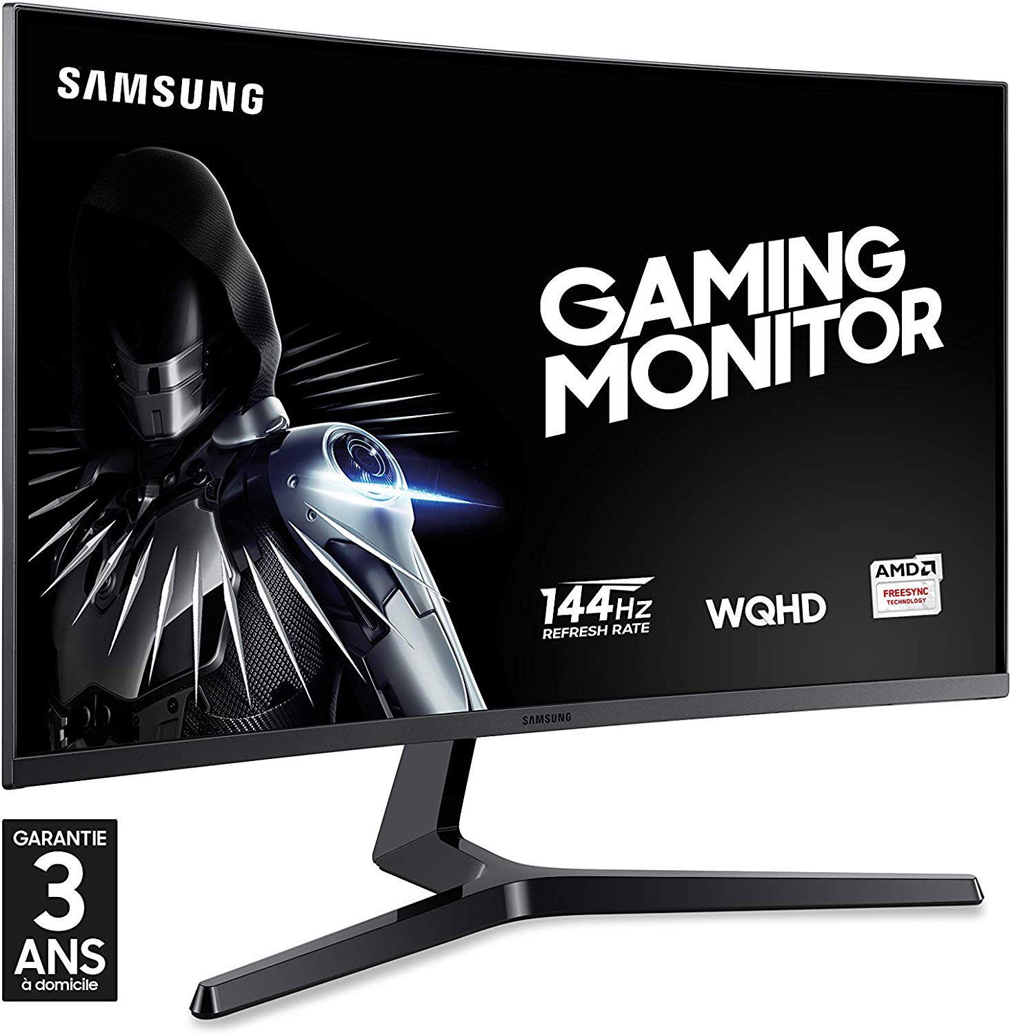 Samsung 27-Inch Curved WQHD 144 Hz LED Gaming Monitor