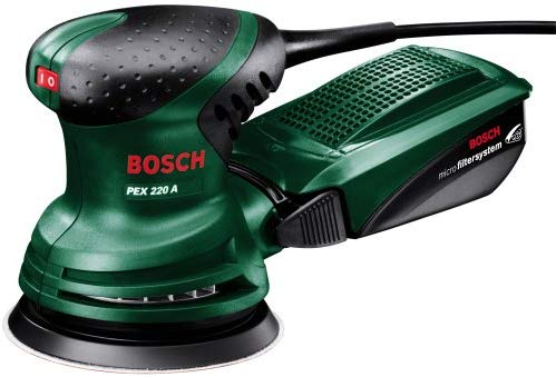 Save £20 on Bosch PEX 220 A Random Orbit Sander