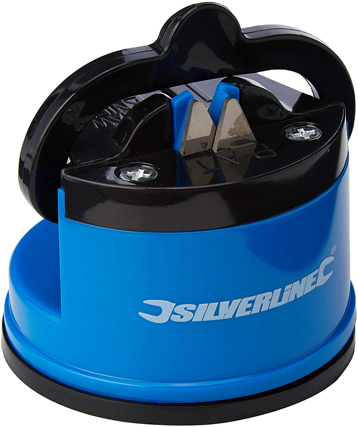 Silverline Tabletop Blade & Knife Sharpener 60 x 65 x 60mm for £3.43 (add on item)