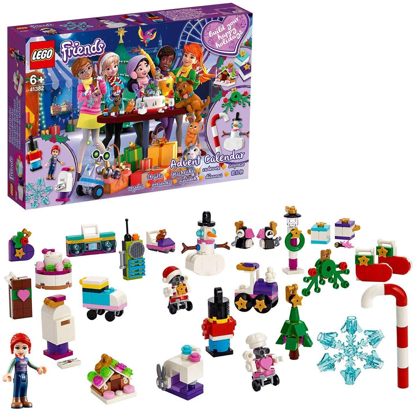 LEGO Friends Advent Calendar 2019 Christmas Decorations Set