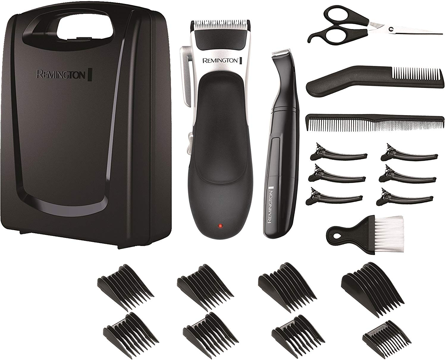 Remington Stylist Hair Clippers 25 Piece Grooming Kit for £19.32