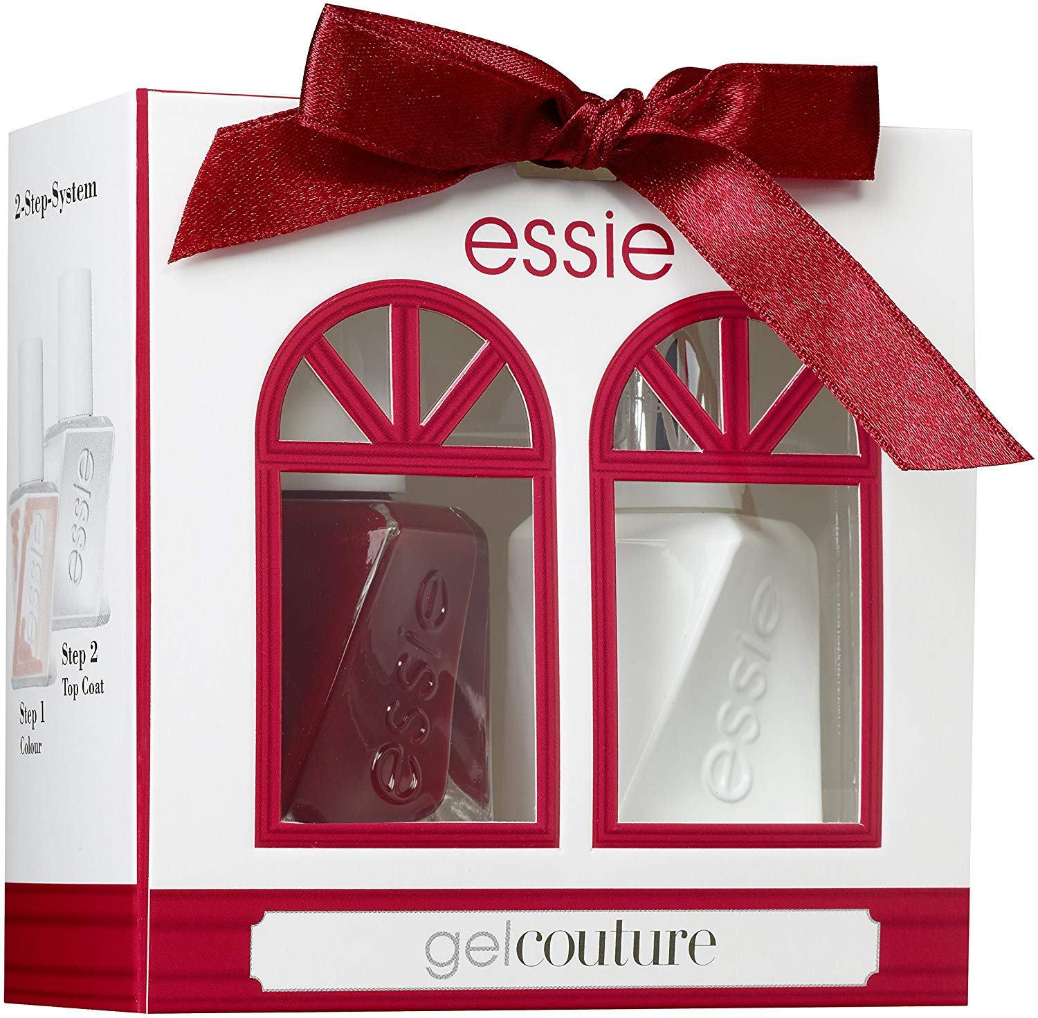 essie Nail Polish Gel Couture Duo Christmas Gift Set