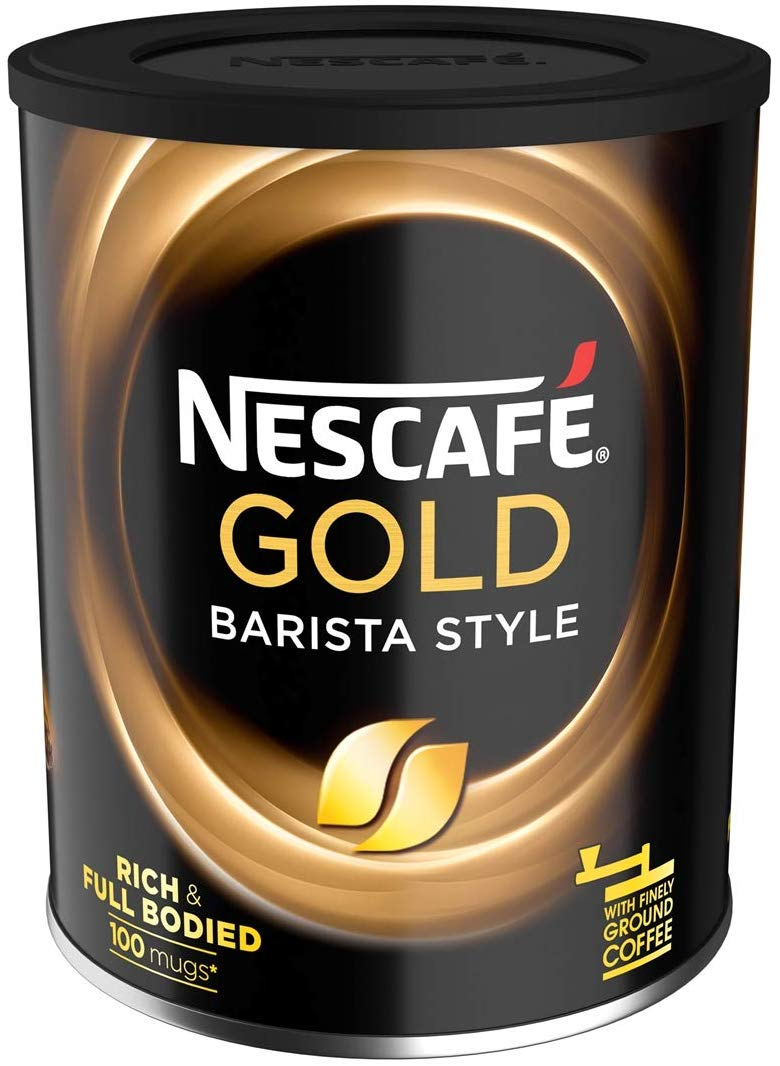Nescafé Gold Blend Barista Style Instant Coffee Tin, 180 g for £5 Prime Only